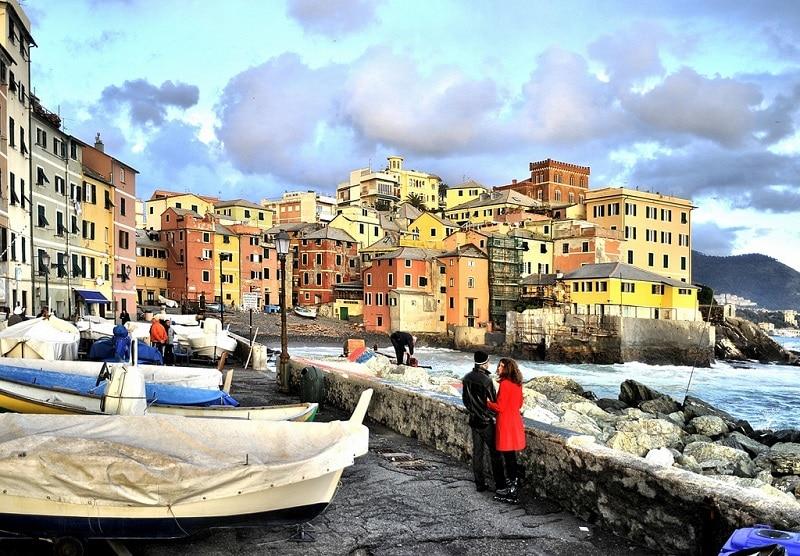 Boccadasse, loger à Gênes