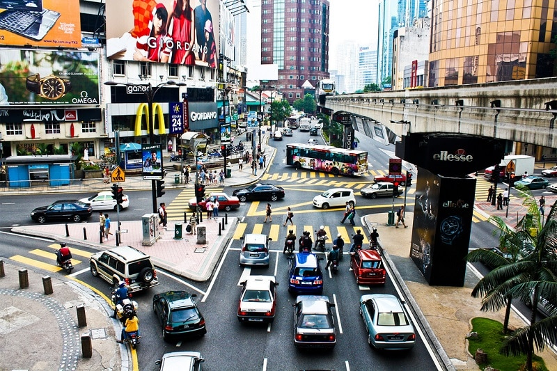 Bukit Bintang, loger à Kuala Lumpur