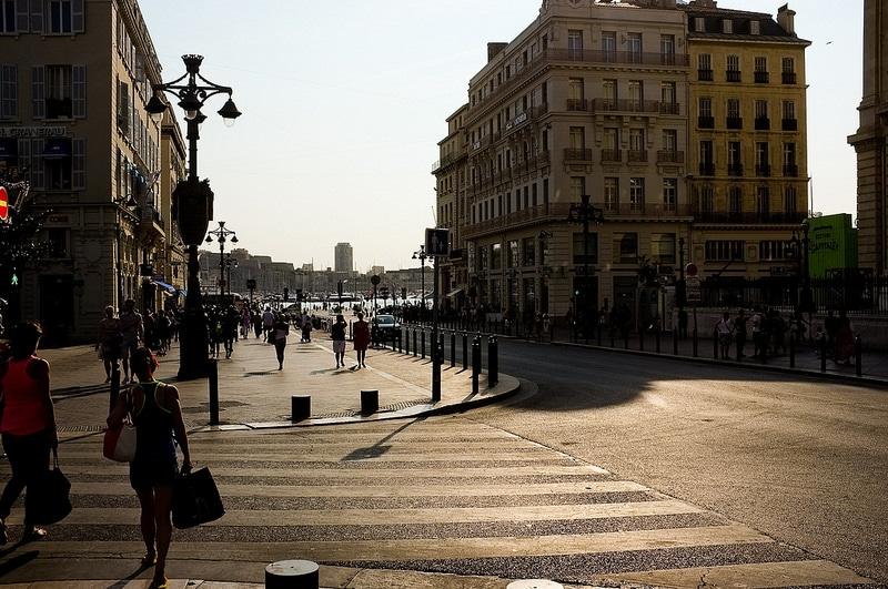 Canebière, loger à Marseille