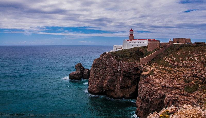 Cap Saint-Vincent, loger en Algarve