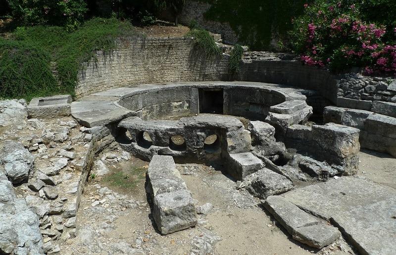 Castellum Aquae, Nîmes