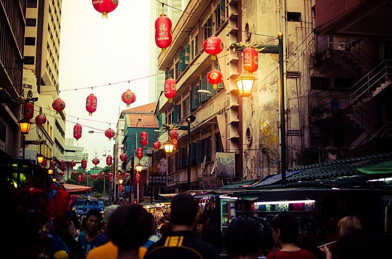 Chinatown, loger à Kuala Lumpur