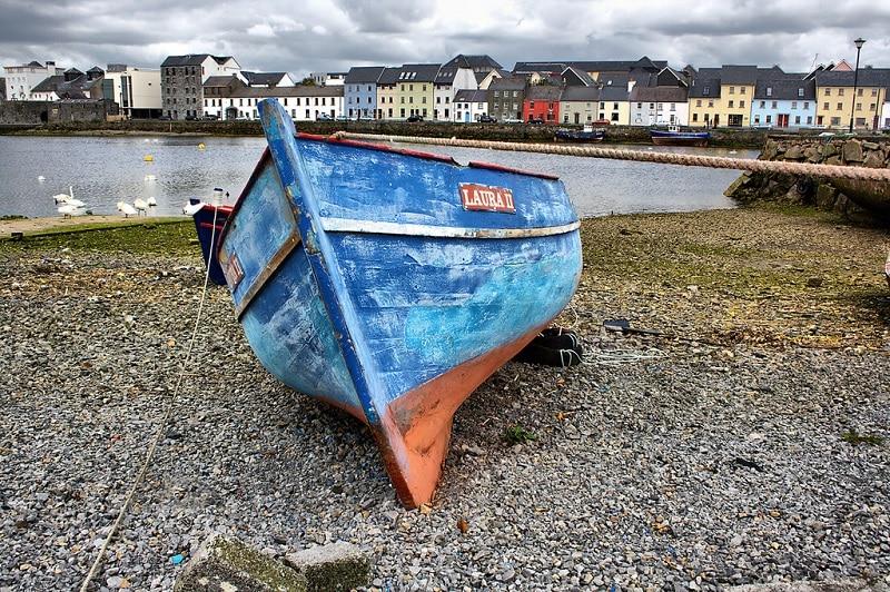 Claddagh, loger à Galway
