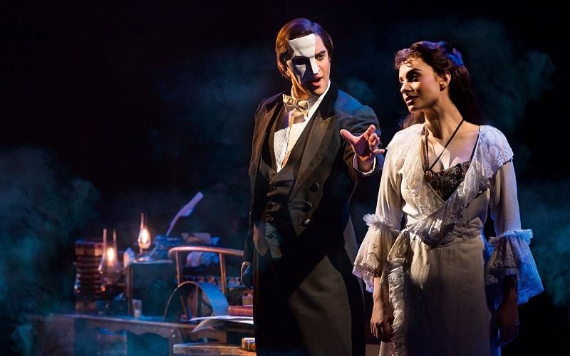 Comédie musicale à New York, Fantôme de l'Opéra