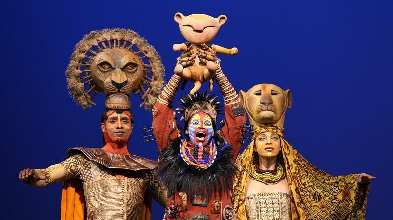 Comédie musicale à New York, Le Roi Lion