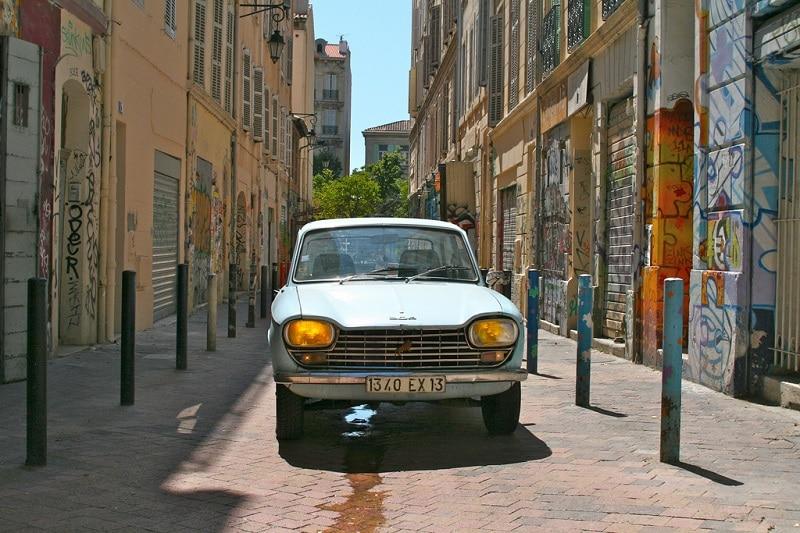 Cours Julien, loger à Marseille