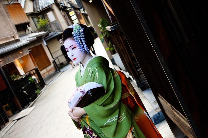 Gion, loger à Kyoto
