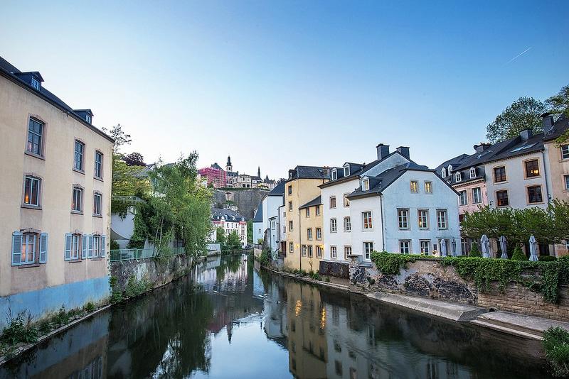 Grund, loger à Luxembourg