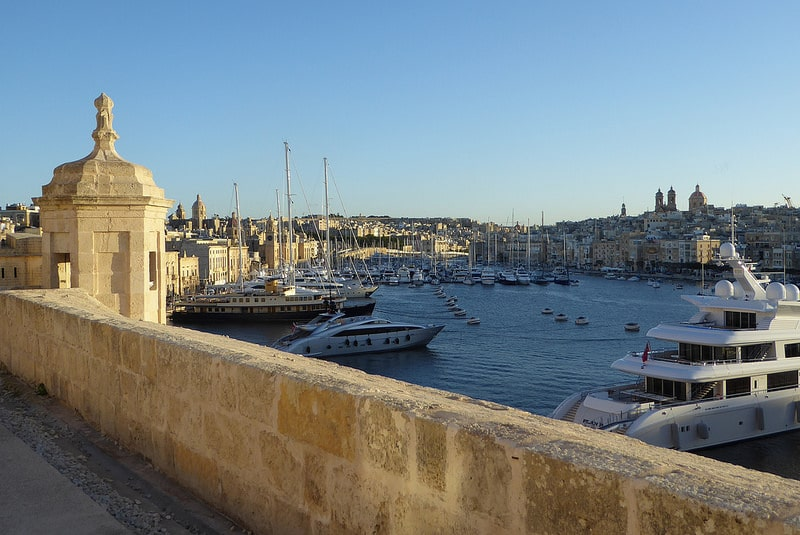 La Valette, loger à Malte
