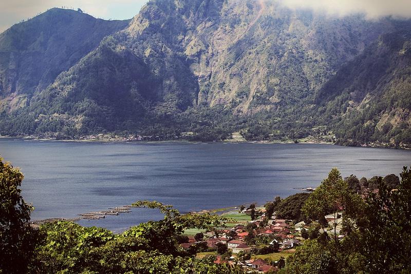 Lac Batur, loger à Bali