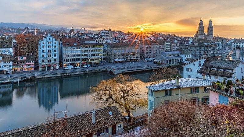 Lindenhof, loger à Zurich