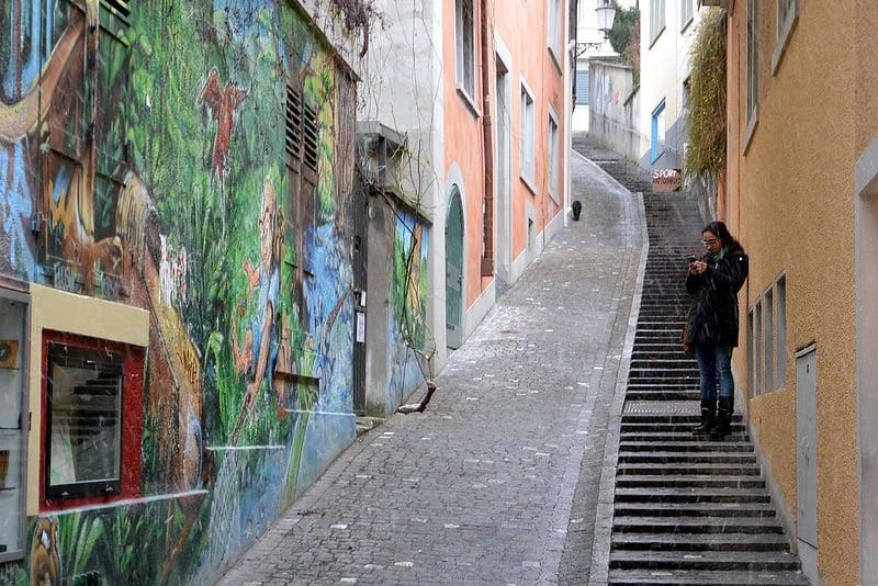 Niederdorf, loger à Zurich