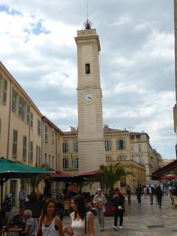 Tour de l'Horloge à Nîmes