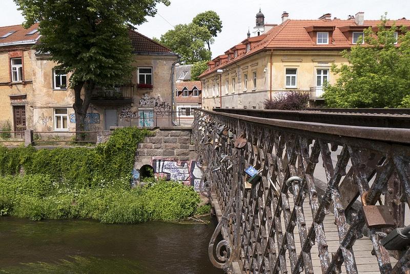 Uzupis, loger à Vilnius