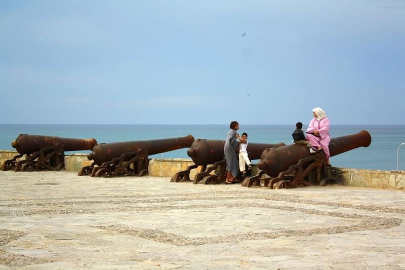 Boulevard, loger à Tanger