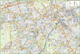 Cartes et plans détaillés de Rome