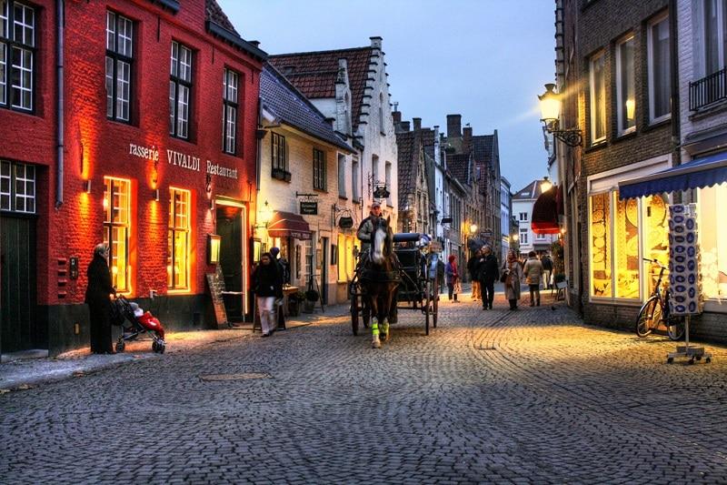 Centre historique, loger à Bruges