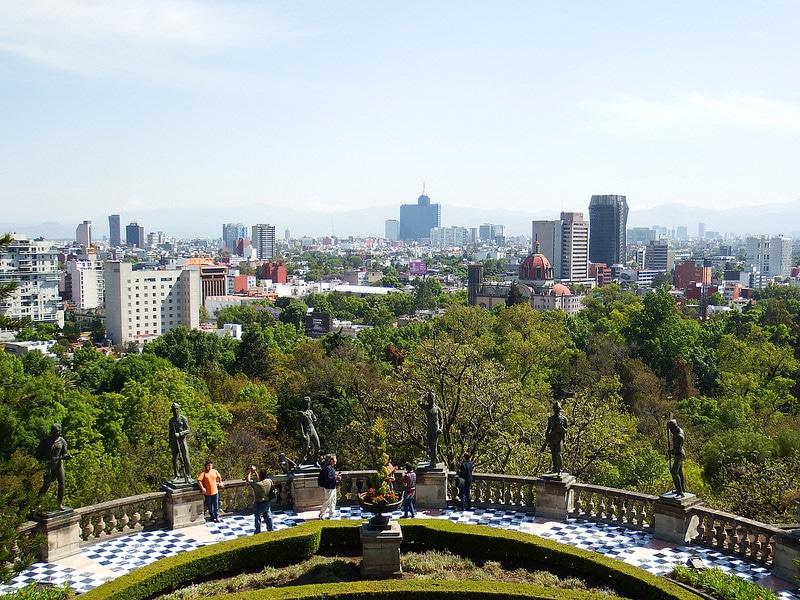 Chapultepec, loger à Mexico