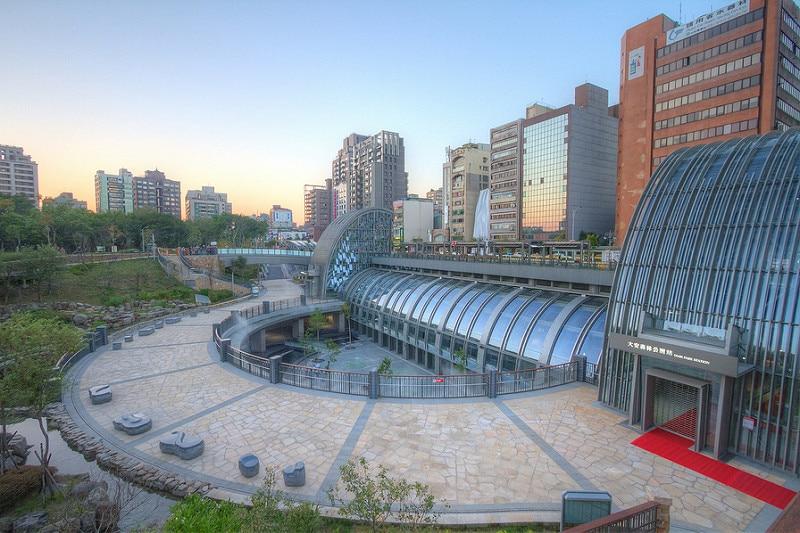 Daan, loger à Taipei