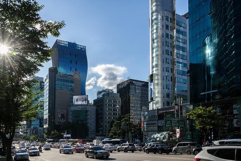Gangnam, loger à Séoul