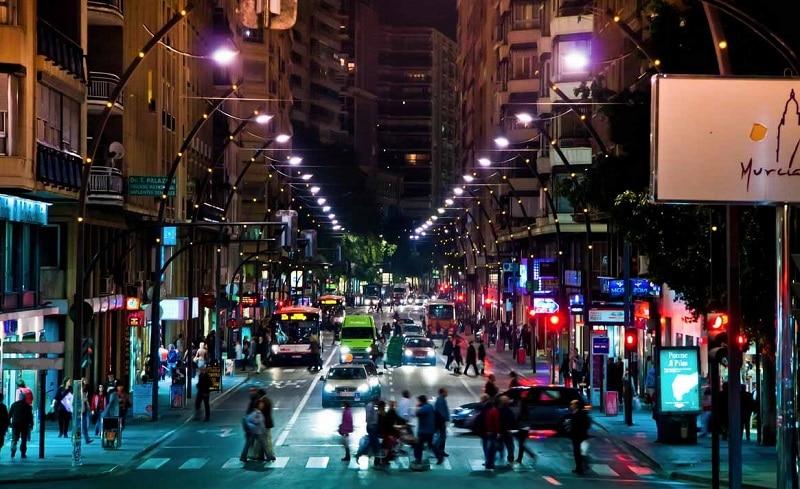 Gran Via, loger à Murcia