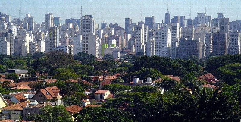 Jardins, loger à Sao Paulo