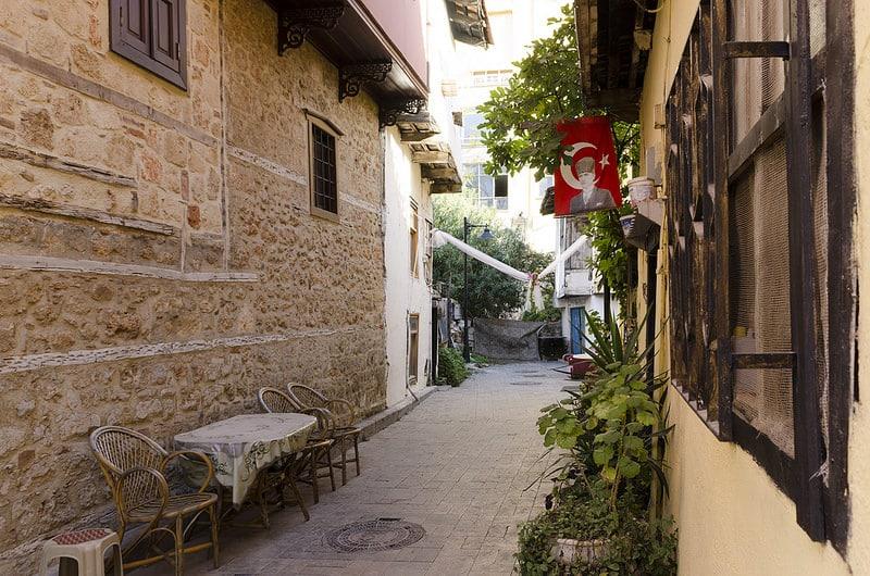 Kaleici, loger à Antalya