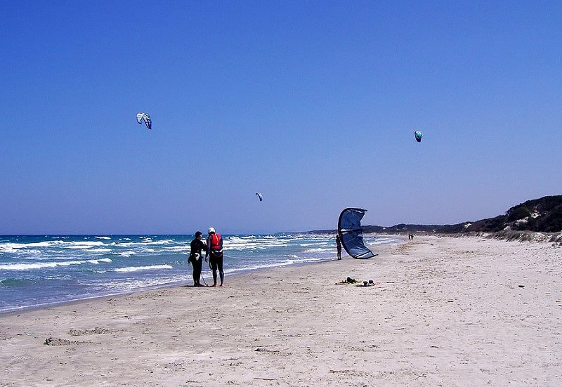 Kitesurf à Kos, en Grèce