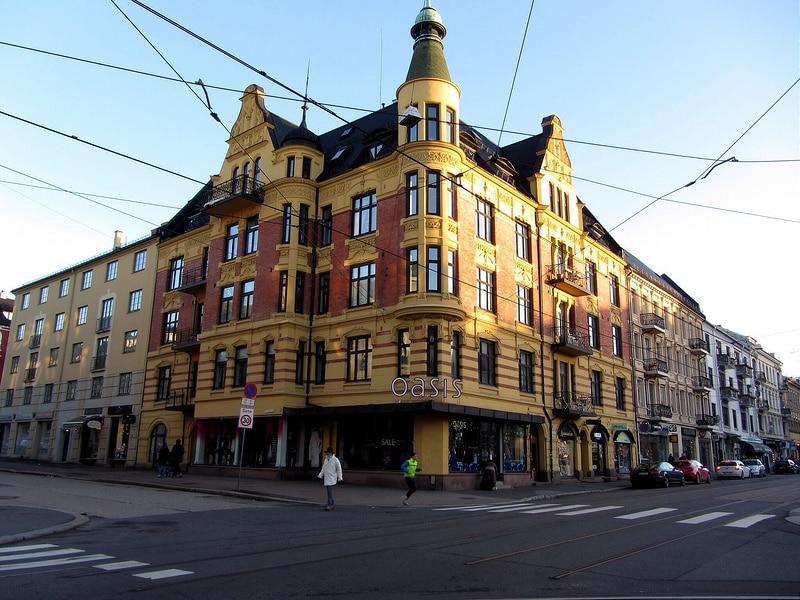 Majorstuen, loger à Oslo