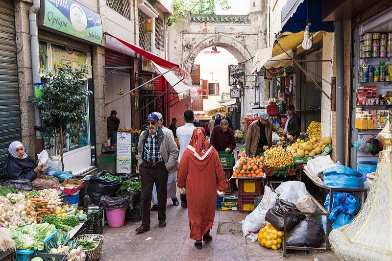 Médina, loger à Tanger