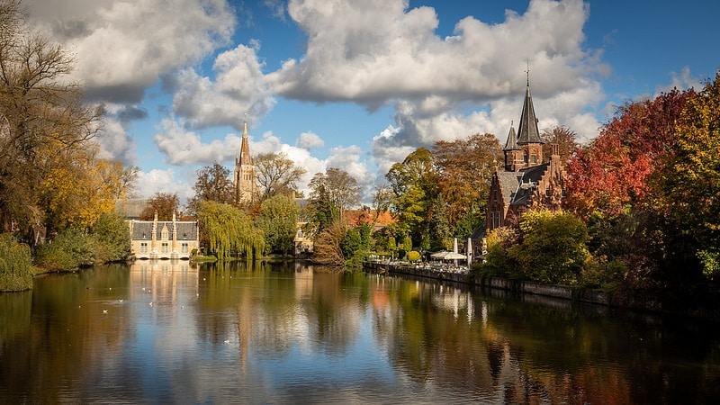 Minnewater, Bruges