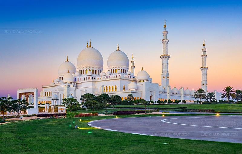 Mosquée Sheikh Zayed, loger à Abu Dhabi