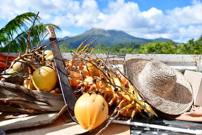 Nourriture locale en Martinique