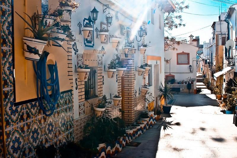 Santa Cruz, loger à Alicante