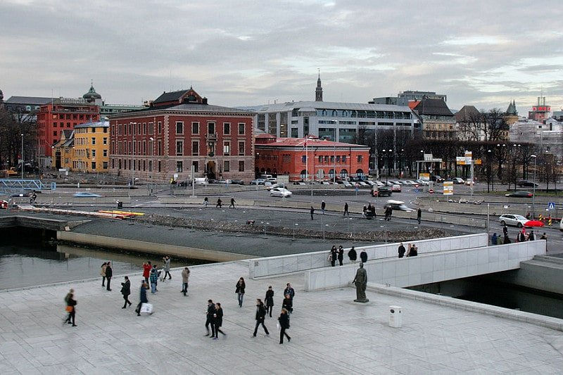 Sentrum, loger à Oslo
