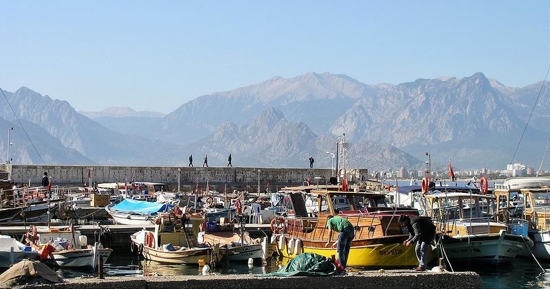 Vieux-port, loger à Antalya
