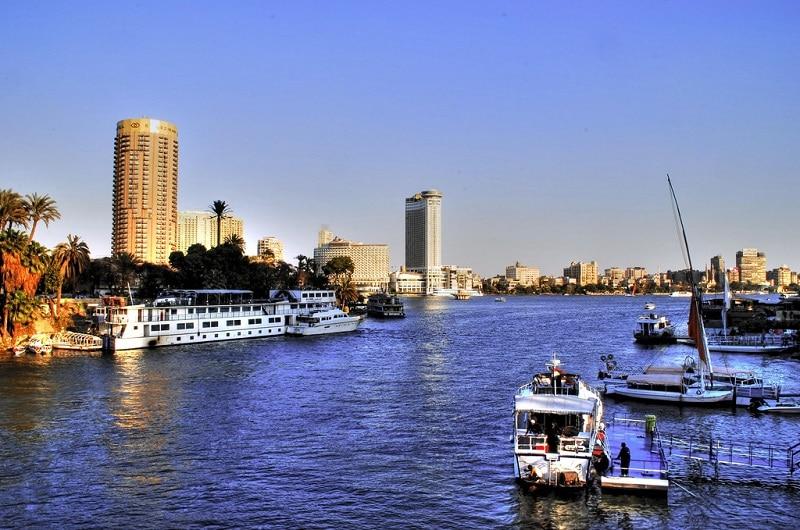 Zamalek, loger au Caire