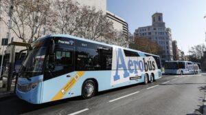 Aerobus : Transfert entre l'aéroport de Barcelone et le centre
