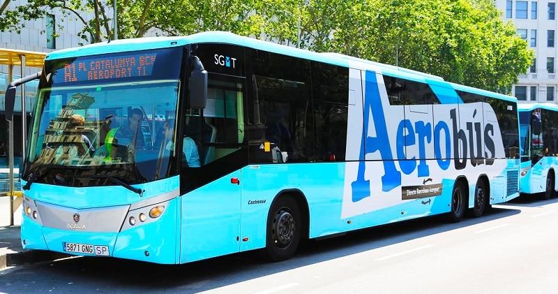 Aerobus, transfert aéroport de Barcelone El Prat