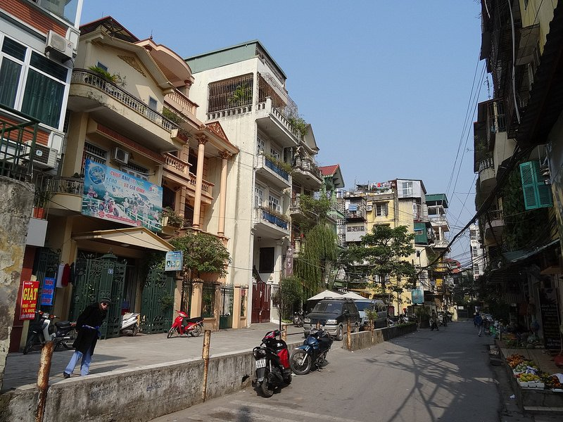 Ba Dinh, loger à Hanoï