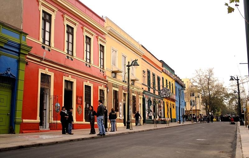 Bellavista, loger à Santiago