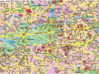 Carte et Plan du Centre de Berlin