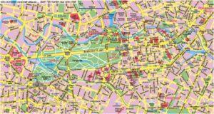 Carte et Plan du Centre de Berlin