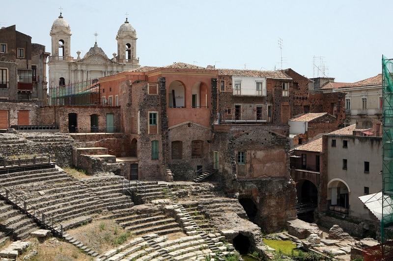 Catane, amphithéâtre romain