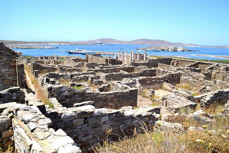Délos, visiter les Cyclades