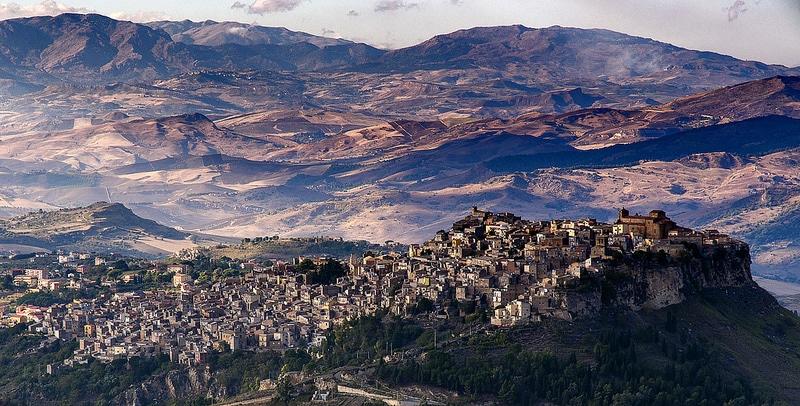 Enna, Sicile