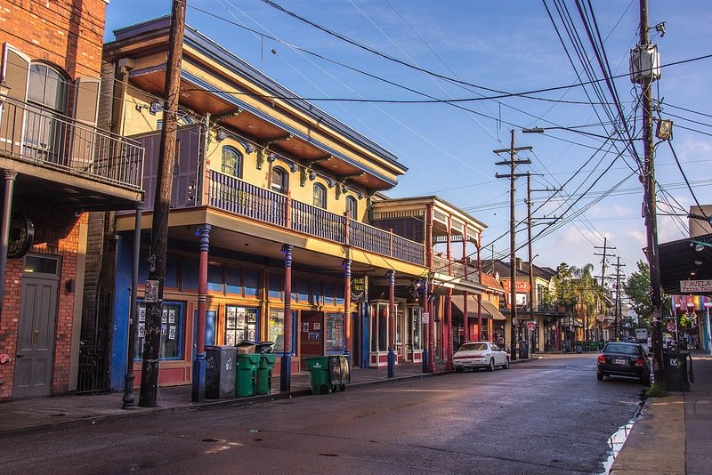 Faubourg Marigny, loger à la Nouvelle Orléans