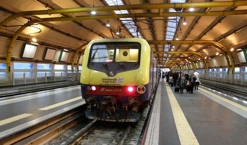 Leonardo Express, train aéroport Rome