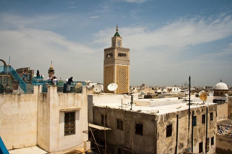 Médina, loger à Tunis