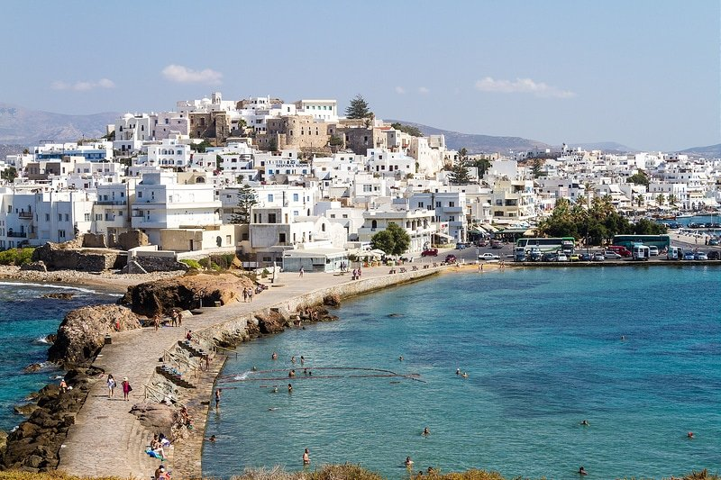 Naxos, visiter les Cyclades